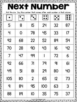 Math Fluency {Roll & Read}