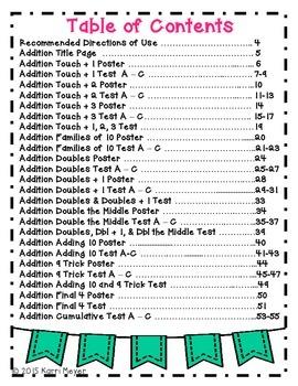Math Fluency Strategy Test
