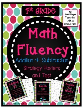 Math Fluency Strategy Test