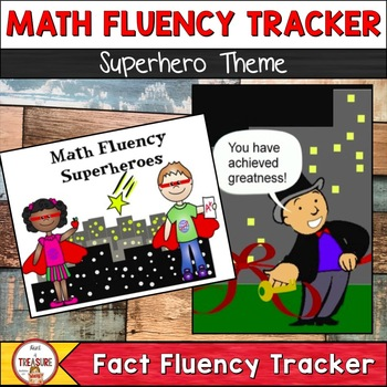 Math Fluency Superhero (Tracking System)