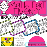 Math Fluency Tracking Sheets