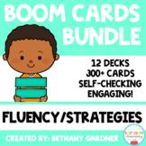 Math Fluency and Strategies BUNDLE - Boom Cards - Digital