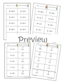 Math Fluency to 5 Practice (CC.K.OA.5)