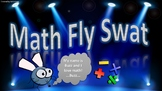 Math Fly Swat- Review Game (Adding and subtracting with regrouping)