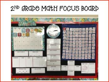 Math Focus Board 2nd Grade