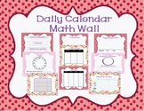 Math Focus Calendar Wall- Pink