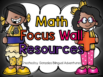 Math Focus Wall Resources BILINGUAL