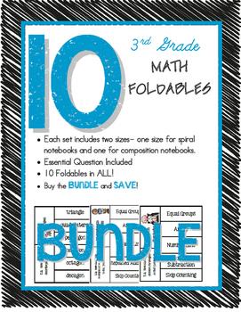 Math Foldable BUNDLE