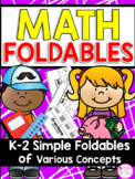 Math Foldable Flipbooks {25 Foldables for the ENTIRE YEAR}