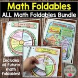 Math Foldables Bundle (Includes All Math Wheel Foldables)