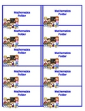 Math Folder Labels for your classroom