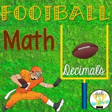 Decimals Math Football Game