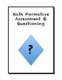 Math Formative Assessment Questions
