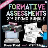 Math Formative Assessments FREEBIE