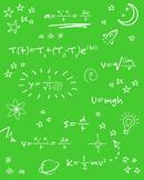 Math Formulas Printable Poster - 8x10