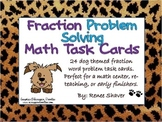 Fractions Math Task Cards