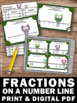 Fractions on a Number Line Task Cards Games & Activities 3