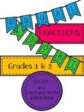 Math: Fractions: Equal Fractions Sort