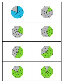 Math – Fractions Flashcards