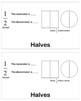 Math Fractions Flip Book for Teaching Basic Fractions
