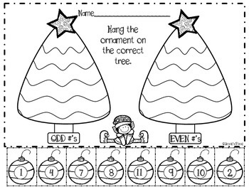 Comparing Numbers Holiday Math Freebie