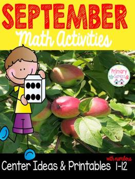 Math Freebie September Pack How Many