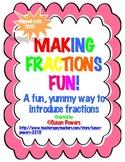 Math Fun Activity, Making Fractions Fun