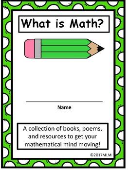 Math Fun! An Assortment of Activities w/Literature. Get your math minds moving!