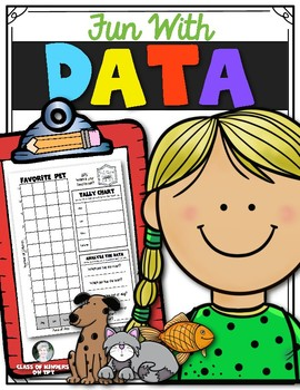 Math Fun {Data Collecting} for First Grade & Kindergarten