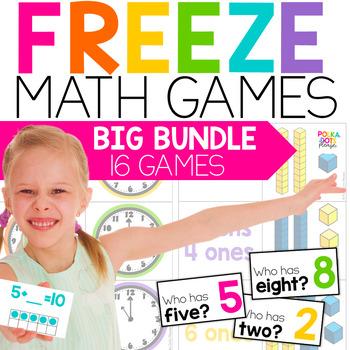 Math Fun FREEZE Endless Bundle