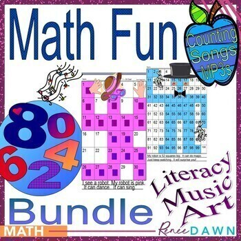 Math Centers - Math Printables and Counting MP3s by Renee Dawn | TpT