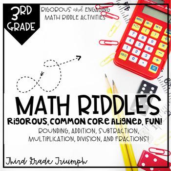Math Fun - Riddles