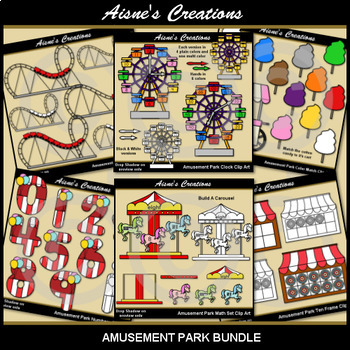 Math Fun Themes 1 Growing Bundle