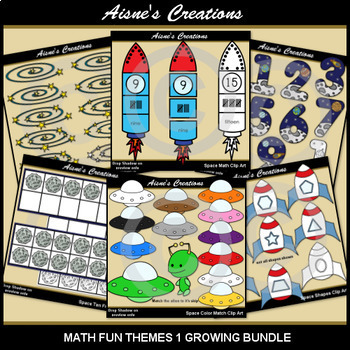 Math Fun Themes 1 Mega Bundle