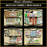 Math Fun Themes 2 Mega Bundle