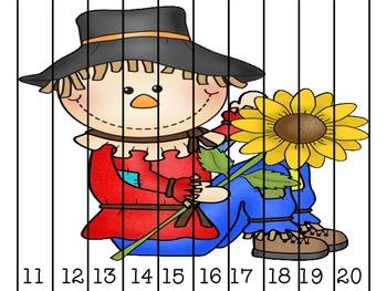 Math Fun WIth Sammy the Scarecrow