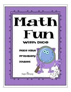 Freebie Math Fun With Dice