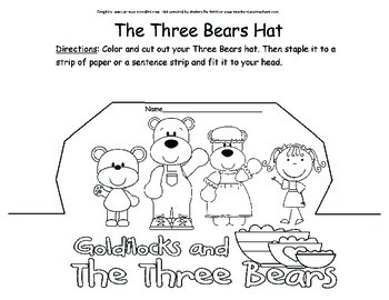Math Fun with Goldilocks and the Three Bears
