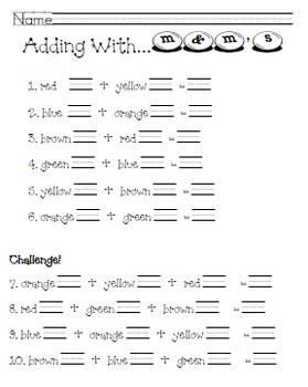 Math Fun with M&M's (1-2)