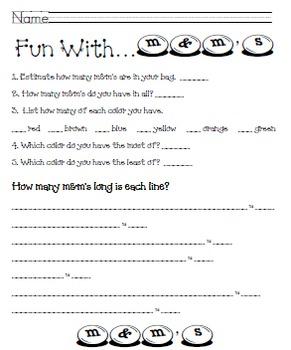 Math Fun with M&M's (3-4)