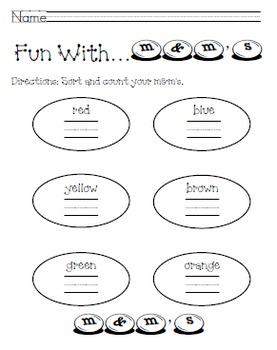 Math Fun with M&M's (K-1)
