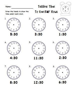 Math Fun with Time