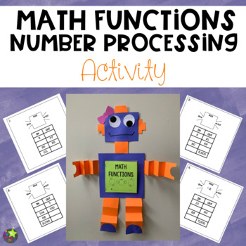 Math Functions and Number Processing Robot Craft