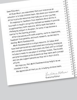 Math Fundamentals, Grade 6, Teacher's Edition, E-book