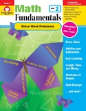 Math Fundamentals Unit: Solve Word Problems, Grade 2
