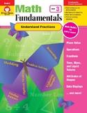 Math Fundamentals Unit: Understand Fractions, Grade 3