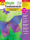 Math Fundamentals Unit: Use Decimal Fractions and Decimals, Grade 4