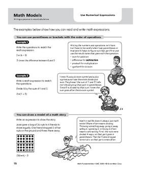 Math Fundamentals Unit: Use Numerical Expressions, Grade 5