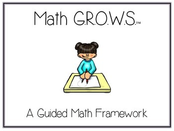 Math G.R.O.W.S. - Ultimate Guided Math Pack - Posters, Signs, & More!