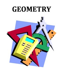 GEOMETRY: VOCABULARY, SHAPES AND WORD SEARCH WORKSHEETS (GRADES 3 - 5)
